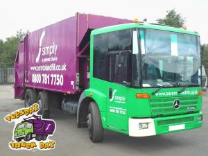 Simply Waste Solutions truck mercedes benz econic 2628 ngt 2005