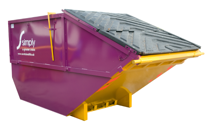 Simply Waste Solutions rear end loader (REL) Container