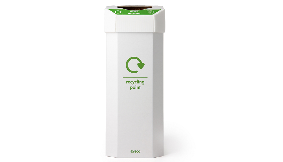 60 litre flat pack recycling bin