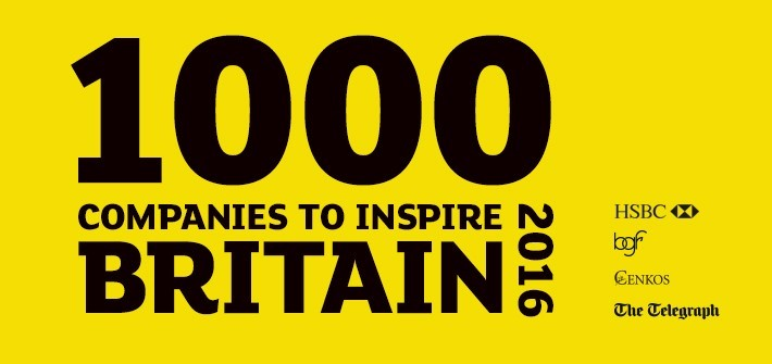 1000 companies to inspire britain 2016