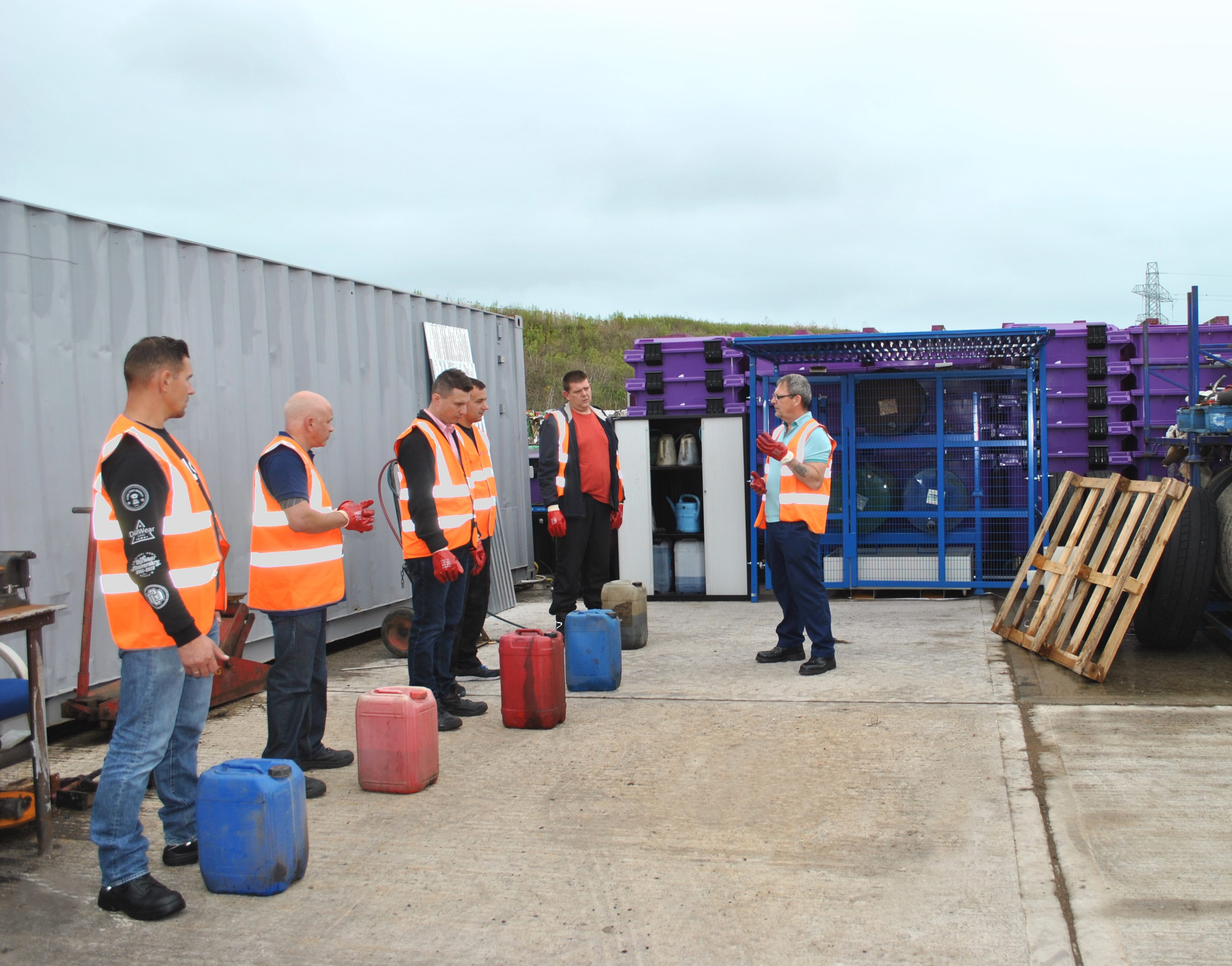 Manual Handling Driver Training