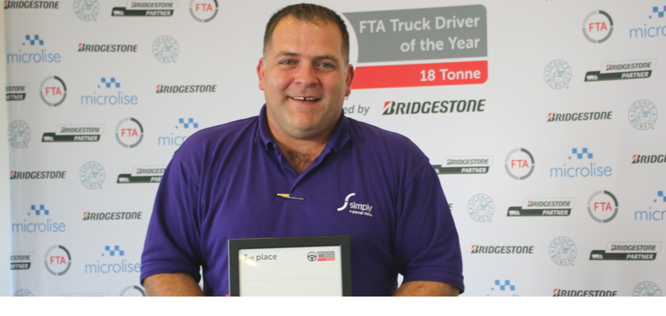 Jamie Jarman wins FTA driver of the year award 2017