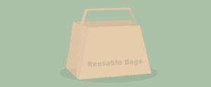 Zero Waste Tip 2, reusable bag