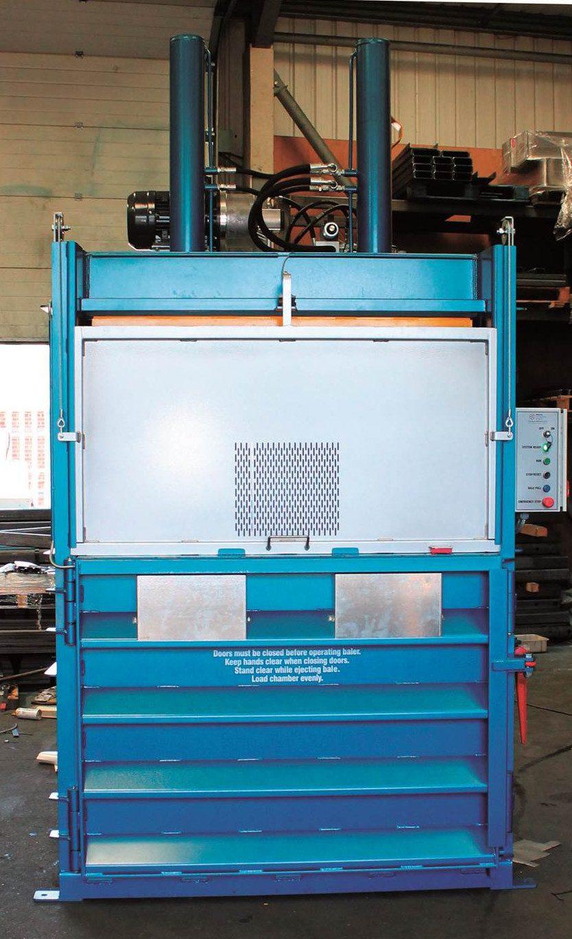 Mill baling machine