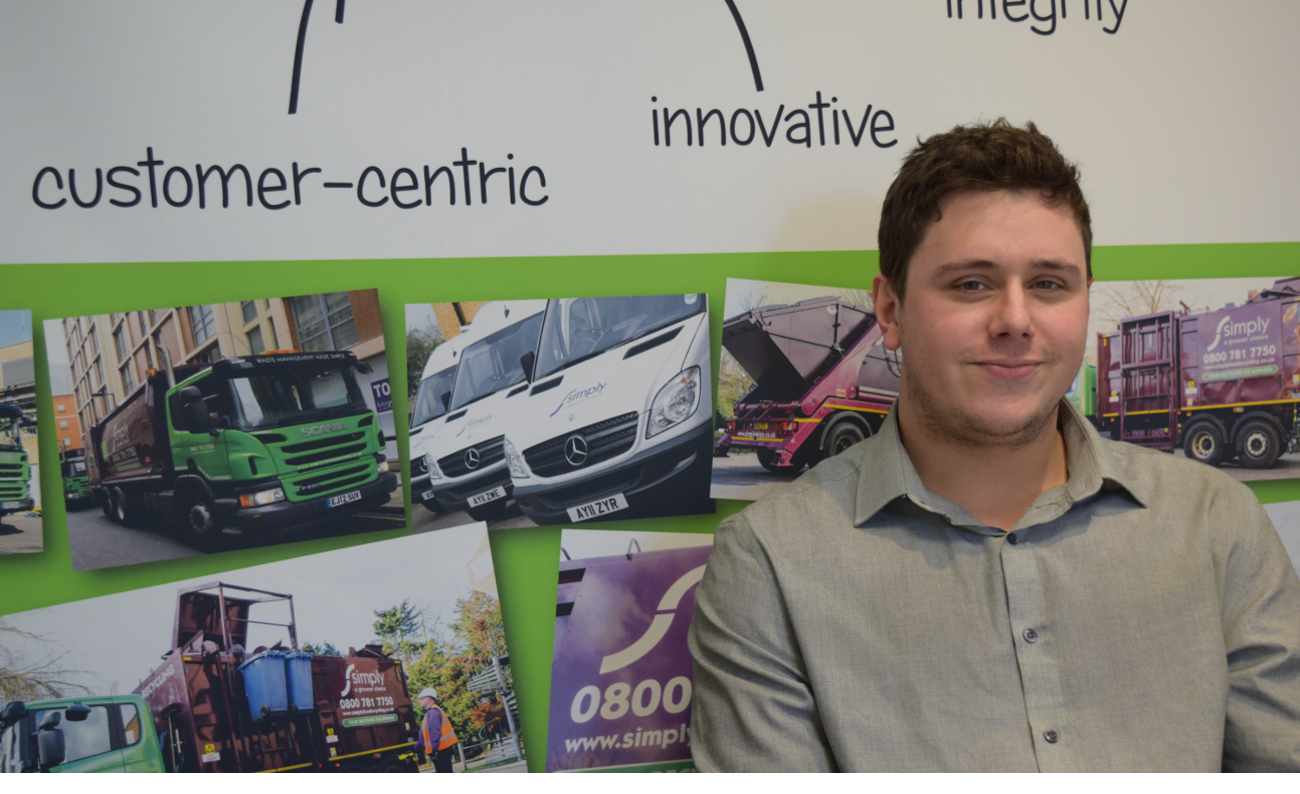 Douglas Peters, the Digital Manager at Simply Waste Solutions
