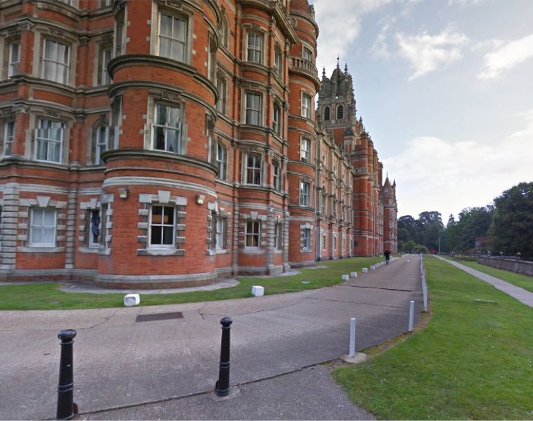 Royal Holloway University, Egham, Surrey SWS Locations