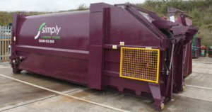 Simply Waste Solutions compactor container