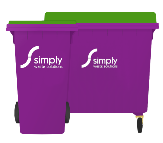 Dry Mixed Recycling - Wheelie Bins
