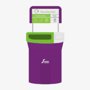internal recycling bin graphic