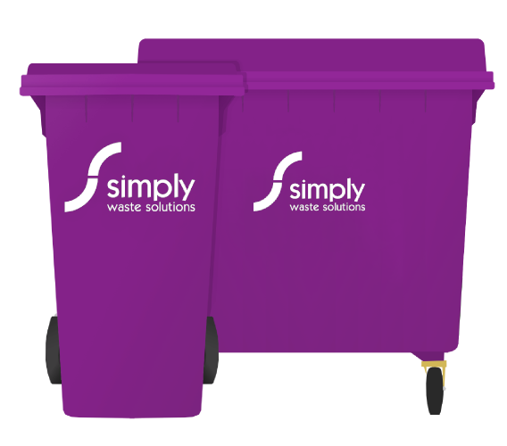 General Waste and Dry Mixed Recycling - Wheelie Bins