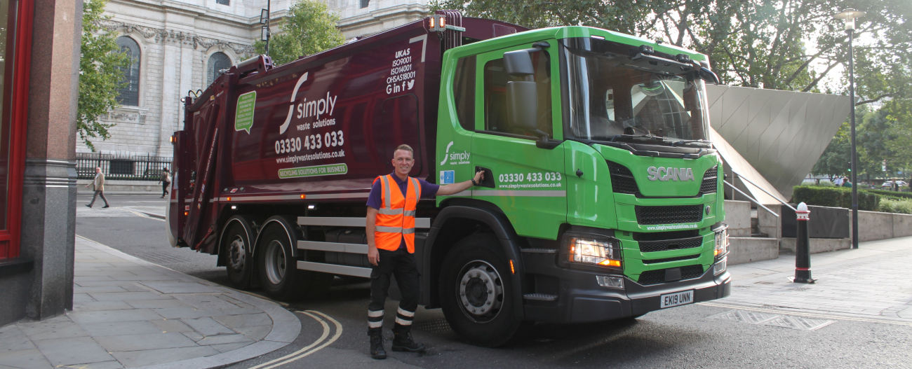 Simply Waste Solutions advertisement image for LGV driver apprentices