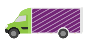 Graphic to represent a full load for clearance service