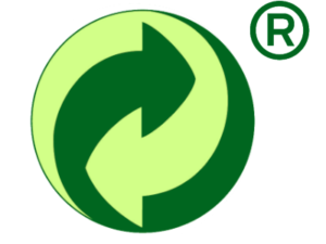 Green dot recycling symbol