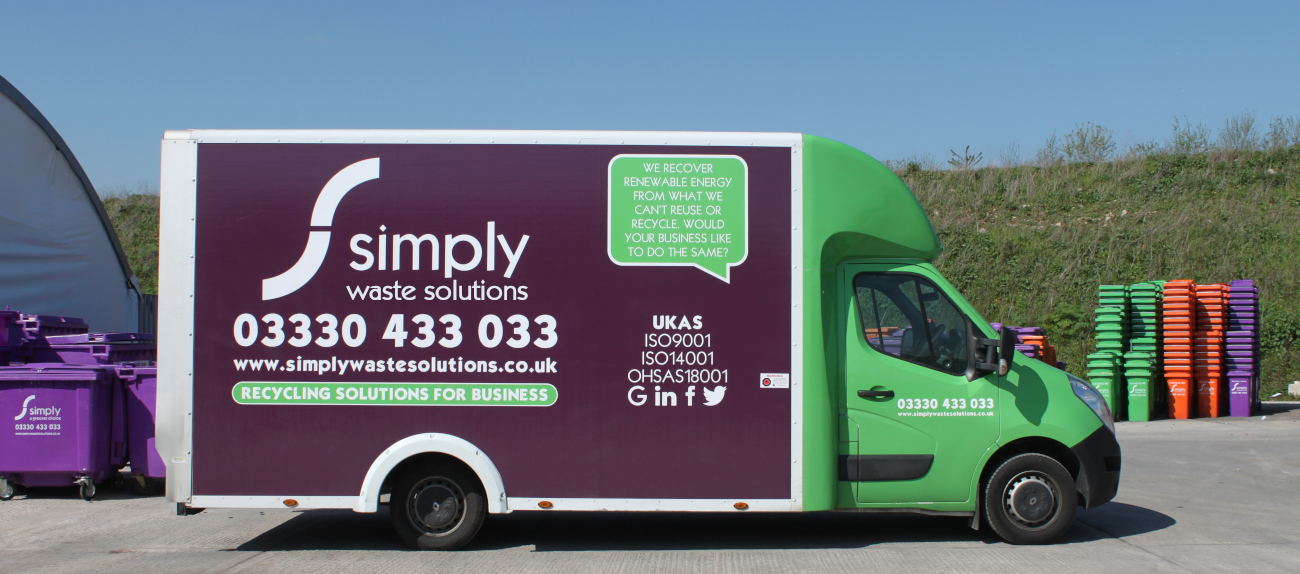 Simply Waste Solutions clearances van