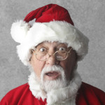 Christmas Waste Shocked Santa