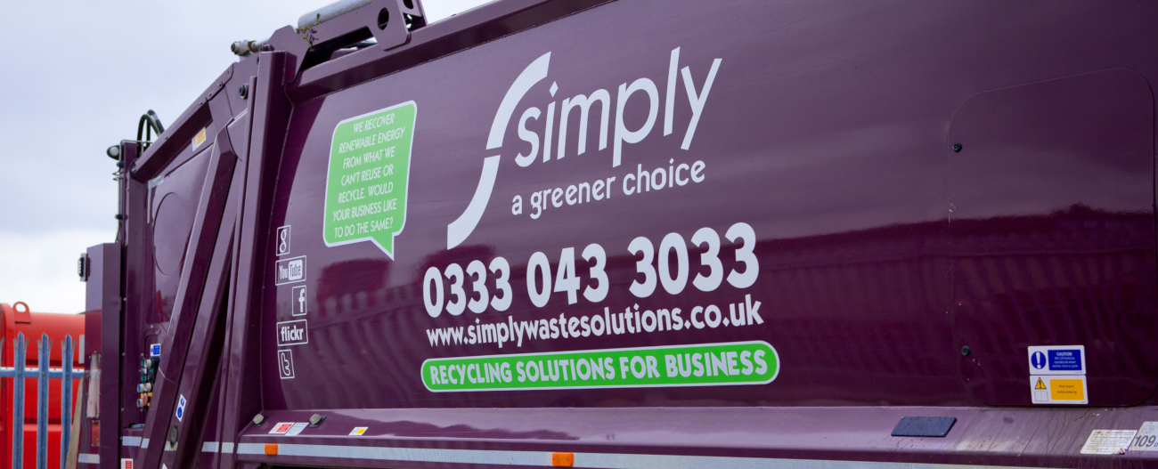 Simply Waste Solutions truck
