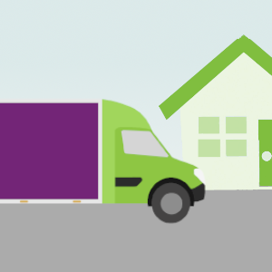 Graphic icon of Simply Waste Solutions clearance van