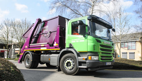 Simply Waste Solutions skip lorry