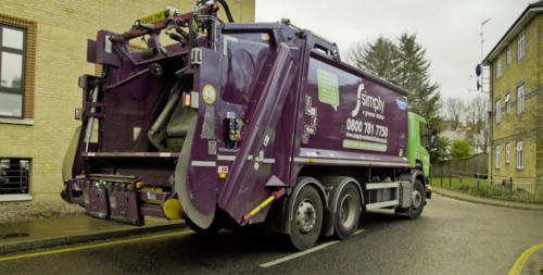Simply Waste Solutions trade waste round