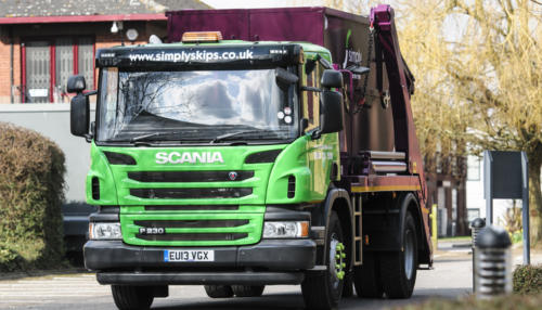 Simply Waste Solutions skip lorry round