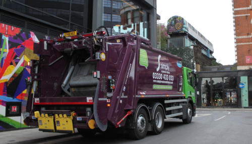 Simply Waste Solutions collecting waste in London